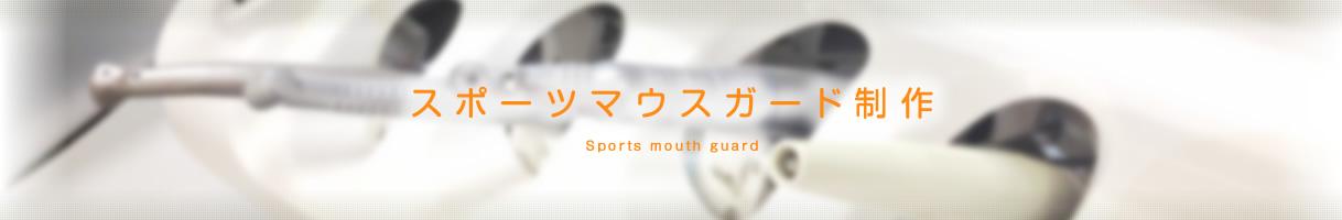 スポーツマウスガード制作